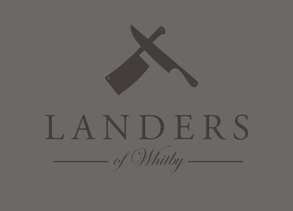 Landers of Whitby Branding