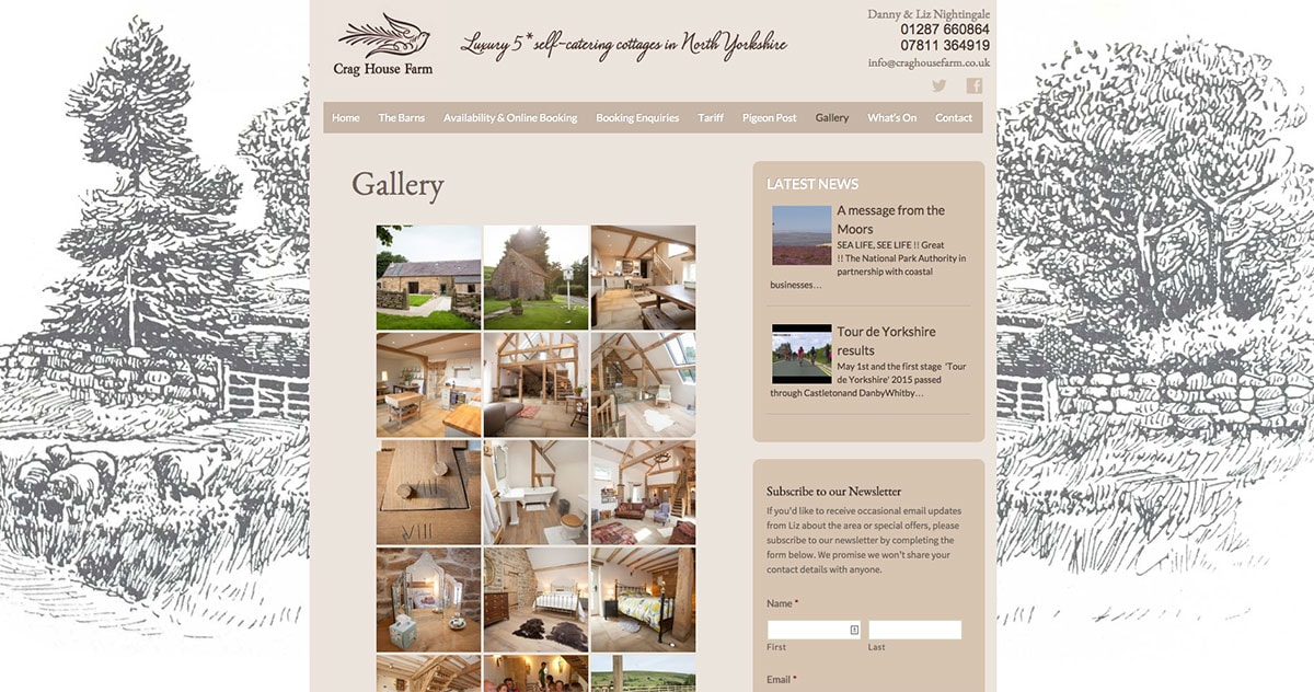 crag house farm website