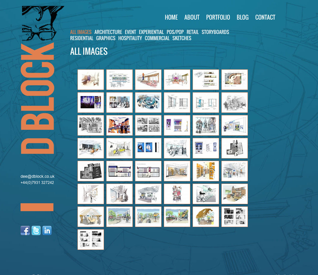 DBlock website