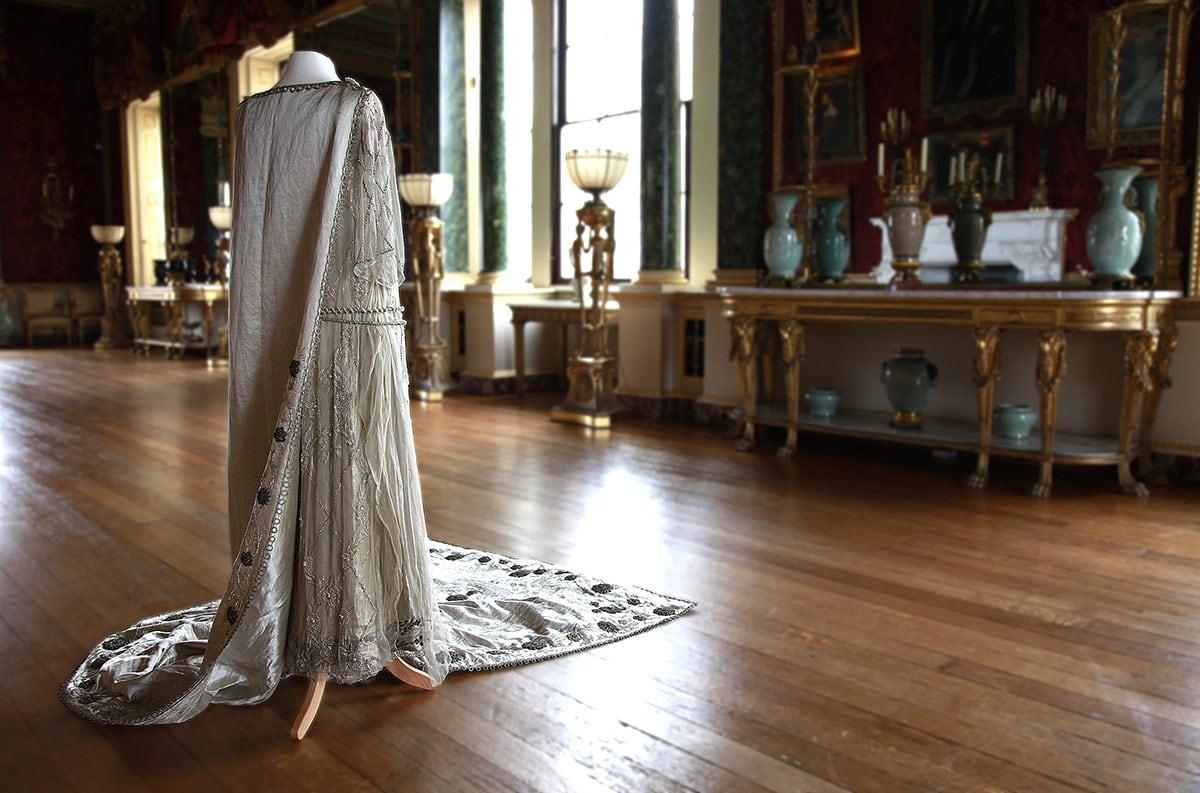 wedding dress worn by HRH Princess Mary