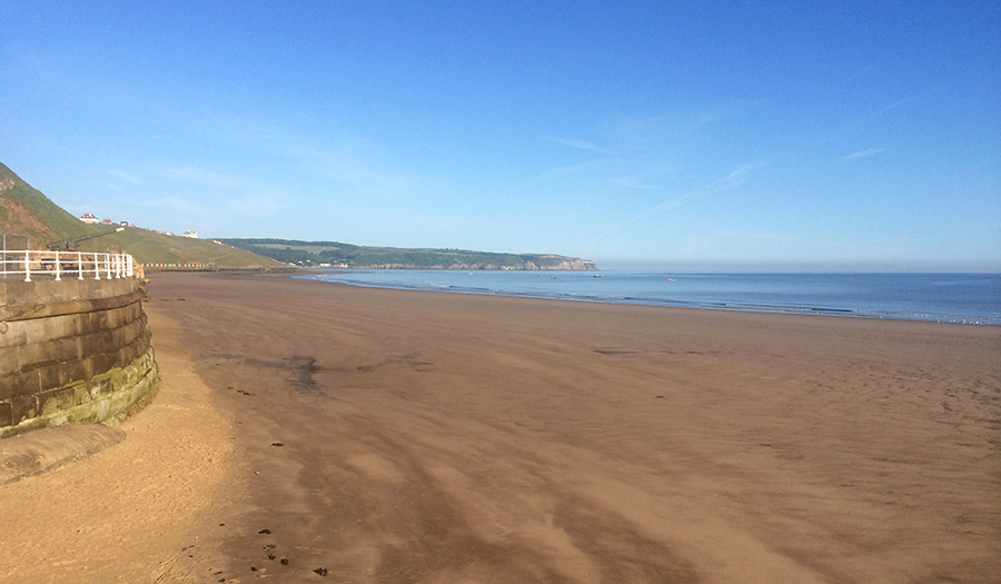 Whitby Beach 11 June 2015 7am