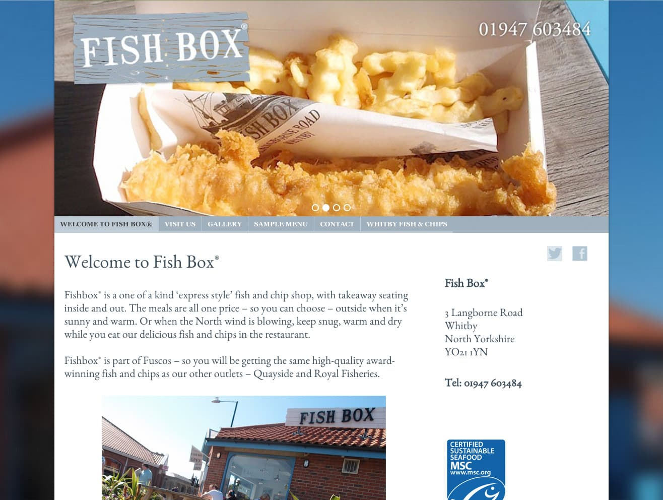Fish Box Whitby