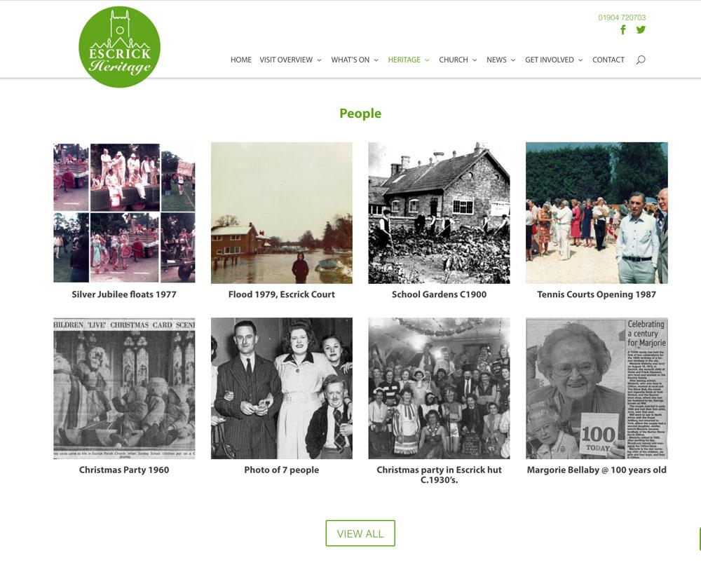 Escrick Heritage - Media Vision